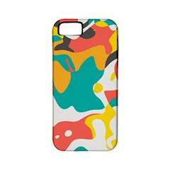 Cubist Art Apple Iphone 5 Classic Hardshell Case (pc+silicone) by LalyLauraFLM