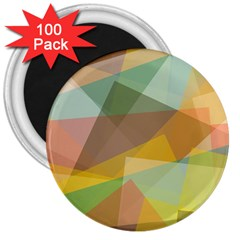 Fading Shapes 3  Magnet (100 Pack) by LalyLauraFLM