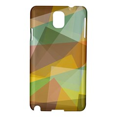 Fading Shapes Samsung Galaxy Note 3 N9005 Hardshell Case by LalyLauraFLM