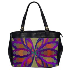 Fly Mandala Office Handbags by Valeryt