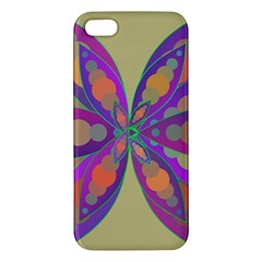 Fly-Mandala Apple iPhone 5 Premium Hardshell Case by Valeryt