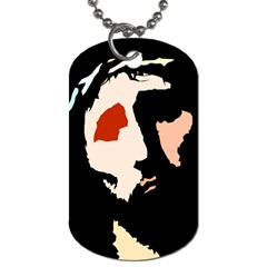 Christ Dog Tag (two Sides)