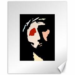 Christ Canvas 16  X 20   by Valeryt