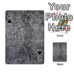Black Mica Playing Cards 54 Designs  by trendistuff