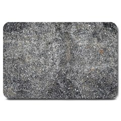 Black Mica Large Doormat  by trendistuff