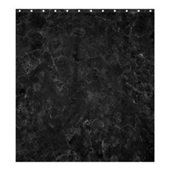 Black Marble Shower Curtain 66  X 72  (large)  by trendistuff