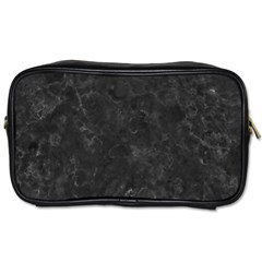 Black Marble Toiletries Bags 2 Side by trendistuff