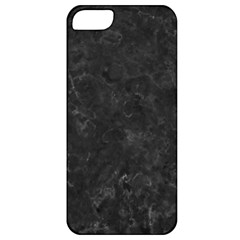 Black Marble Apple Iphone 5 Classic Hardshell Case by trendistuff