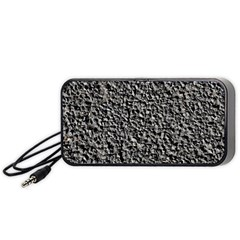 BLACK GRAVEL Portable Speaker (Black)