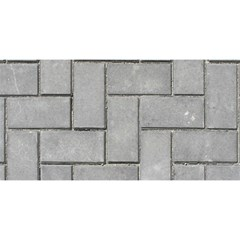 Alternating Grey Brick You Are Invited 3d Greeting Card (8x4)