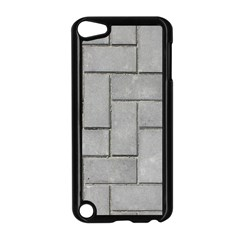 Alternating Grey Brick Apple Ipod Touch 5 Case (black) by trendistuff