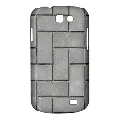 ALTERNATING GREY BRICK Samsung Galaxy Express I8730 Hardshell Case  by trendistuff