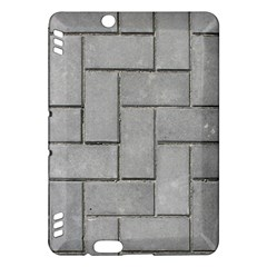 Alternating Grey Brick Kindle Fire Hdx Hardshell Case by trendistuff