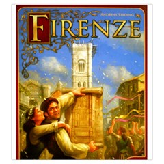 Firenze  By Thomas Covert   Drawstring Pouch (large)   S40jbltu7wrk   Www Artscow Com Front