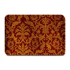 ROYAL RED AND GOLD Plate Mats by trendistuff