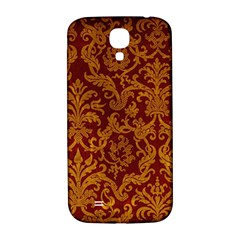 Royal Red And Gold Samsung Galaxy S4 I9500/i9505  Hardshell Back Case by trendistuff