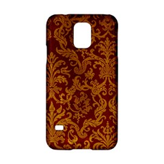 Royal Red And Gold Samsung Galaxy S5 Hardshell Case  by trendistuff