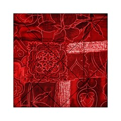 Red Patchwork Acrylic Tangram Puzzle (6  X 6 ) by trendistuff