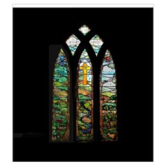Village Mass Bag By Thomas Covert   Drawstring Pouch (medium)   Hscqdtuvwkj0   Www Artscow Com Back