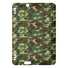 Camo Woodland Kindle Fire Hdx Hardshell Case by trendistuff