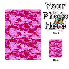Camo Pink Multi Purpose Cards (rectangle)