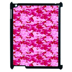 Camo Pink Apple Ipad 2 Case (black) by trendistuff