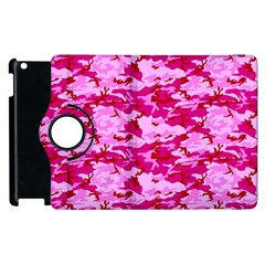 Camo Pink Apple Ipad 3/4 Flip 360 Case by trendistuff
