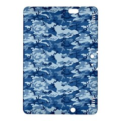 Camo Navy Kindle Fire Hdx 8 9  Hardshell Case by trendistuff