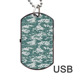 Camo Digital Urban Dog Tag Usb Flash (two Sides)  by trendistuff