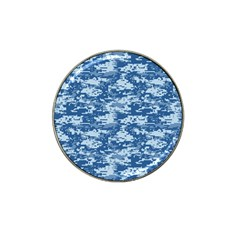 Camo Digital Navy Hat Clip Ball Marker (4 Pack) by trendistuff