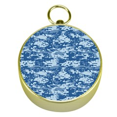 Camo Digital Navy Gold Compasses by trendistuff