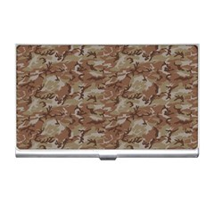 Camo Desert Business Card Holders by trendistuff