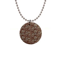 Camo Desert Button Necklaces by trendistuff