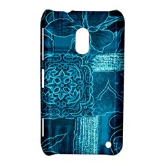 Blue Patchwork Nokia Lumia 620 by trendistuff