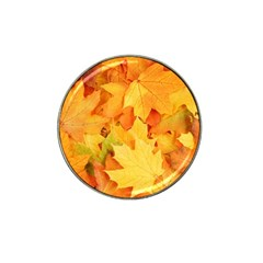 Yellow Maple Leaves Hat Clip Ball Marker (10 Pack) by trendistuff