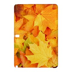 Yellow Maple Leaves Samsung Galaxy Tab Pro 10 1 Hardshell Case by trendistuff