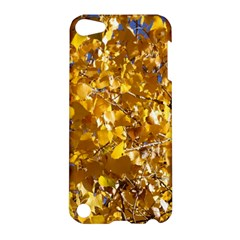 Yellow Leaves Apple Ipod Touch 5 Hardshell Case by trendistuff