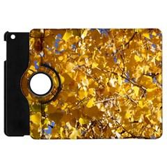Yellow Leaves Apple Ipad Mini Flip 360 Case by trendistuff