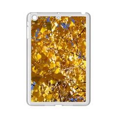 Yellow Leaves Ipad Mini 2 Enamel Coated Cases by trendistuff