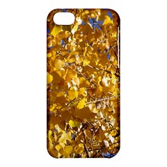 Yellow Leaves Apple Iphone 5c Hardshell Case by trendistuff