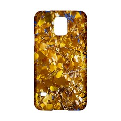 Yellow Leaves Samsung Galaxy S5 Hardshell Case  by trendistuff