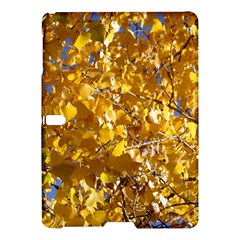 Yellow Leaves Samsung Galaxy Tab S (10 5 ) Hardshell Case  by trendistuff