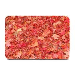 Red Maple Leaves Plate Mats by trendistuff