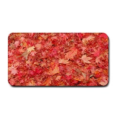 RED MAPLE LEAVES Medium Bar Mats by trendistuff