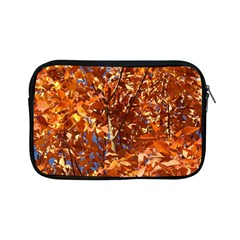 ORANGE LEAVES Apple iPad Mini Zipper Cases by trendistuff