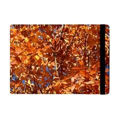Orange Leaves Ipad Mini 2 Flip Cases by trendistuff