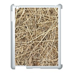 Light Colored Straw Apple Ipad 3/4 Case (white) by trendistuff