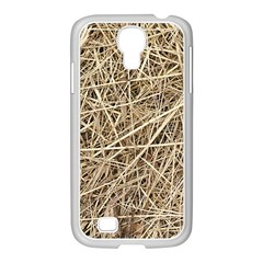 Light Colored Straw Samsung Galaxy S4 I9500/ I9505 Case (white) by trendistuff