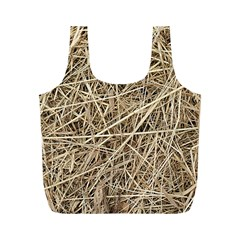 LIGHT COLORED STRAW Full Print Recycle Bags (M)