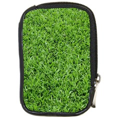 Green Grass 2 Compact Camera Cases by trendistuff